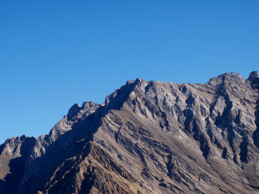 Close up of SW Ridge