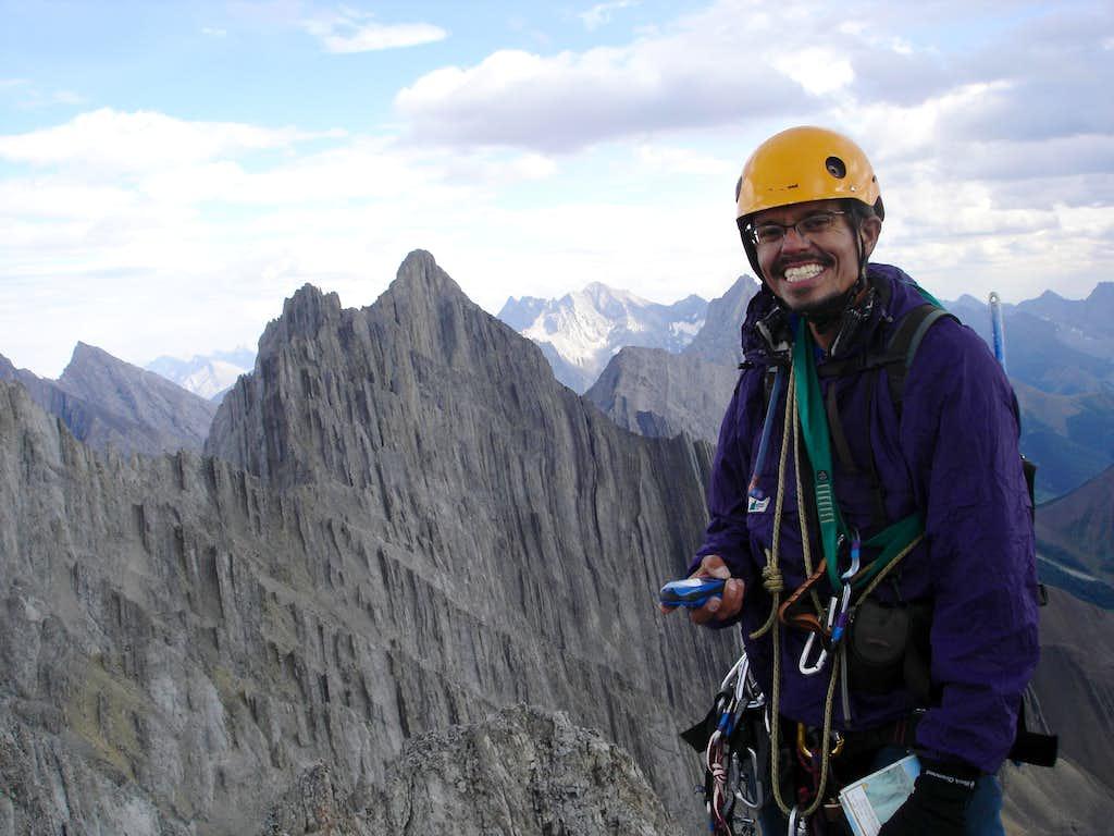 First Summit of Mt. Burney