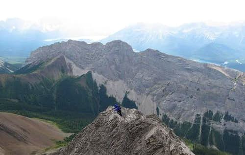 Lower SW Ridge of Mt. Burney