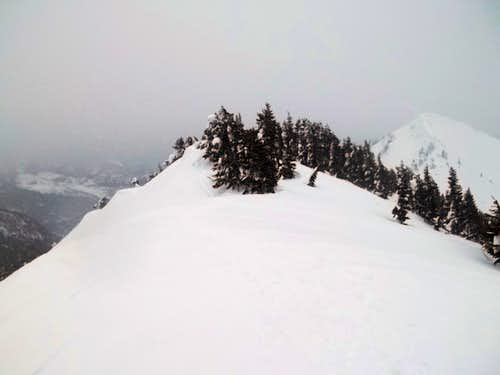 The summit area of West Granite