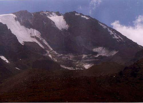 North glaciers of Sabalan...