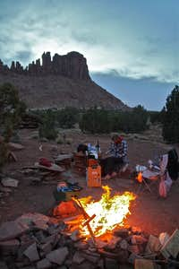 Camping at Bridger jacks