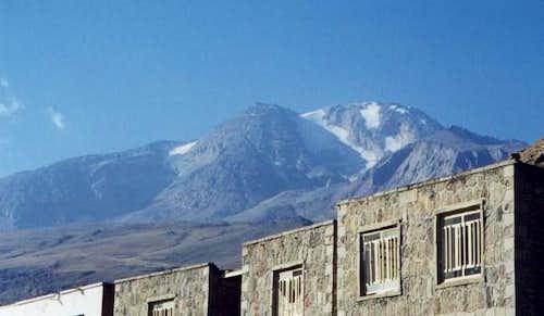 Sabalan mount . 4811 m.