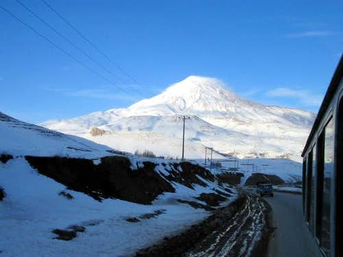 Damavand mount from south...