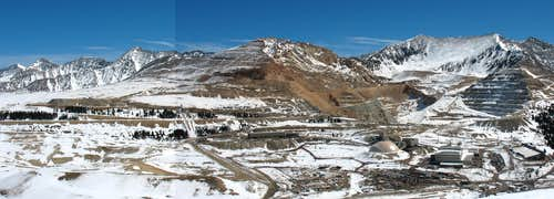Climax Molybdenum Mine panorama