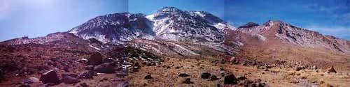 East view of Sabalan mount .(...