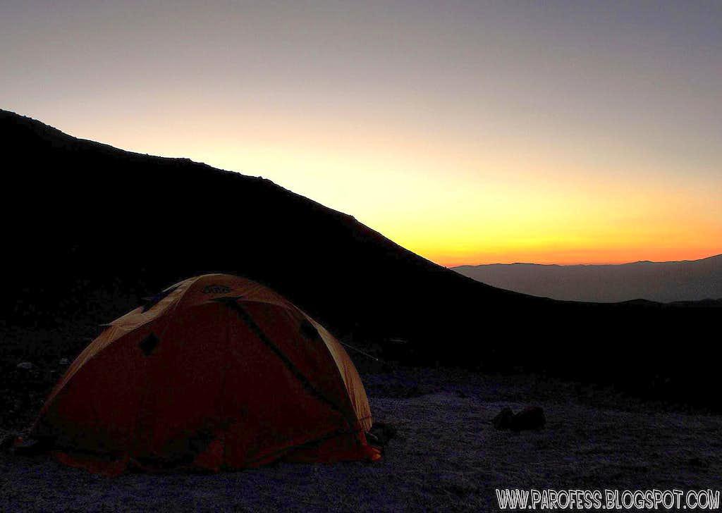Base Camp at 5.150m