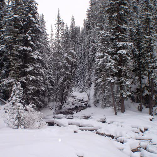 Wintry King Creek