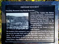 Friendship Tower Plaque
