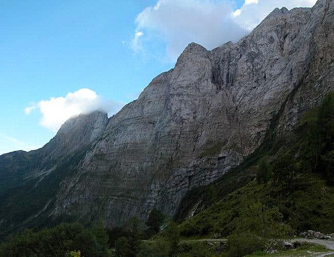 Cellon (2241m) and...