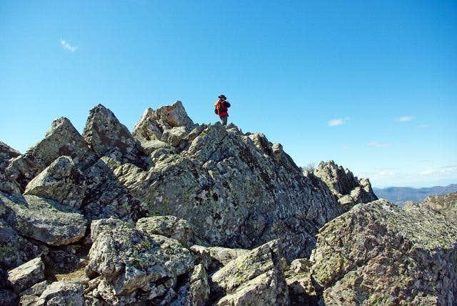 Summit of Carrera del Caballo