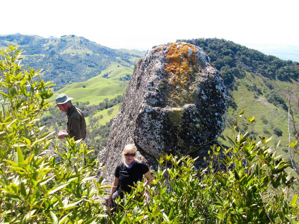 Cathedral Peak Summit Block