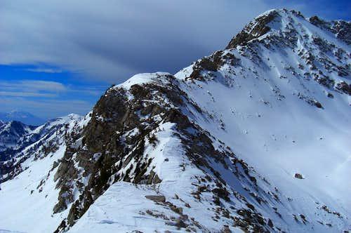 White Baldy's east ridge.