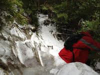 Ice Ledge descent