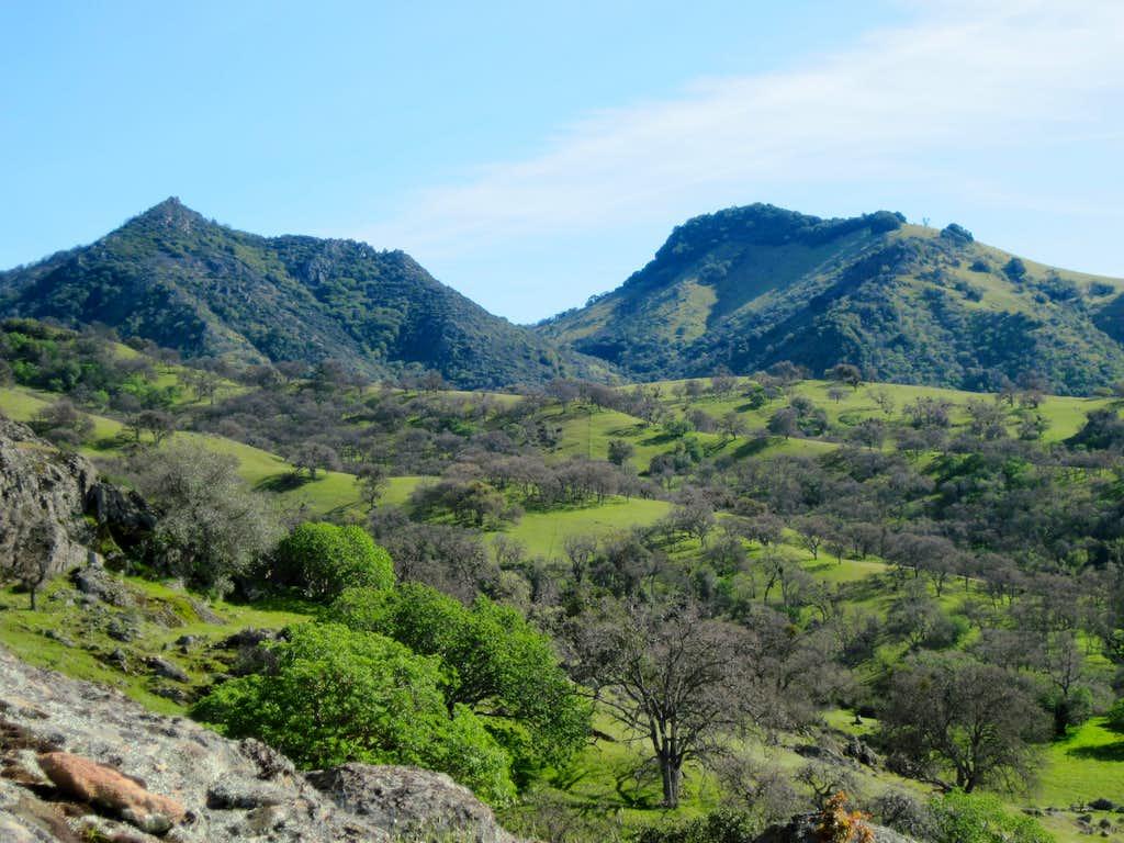 Cathedral & Mariposa Peaks