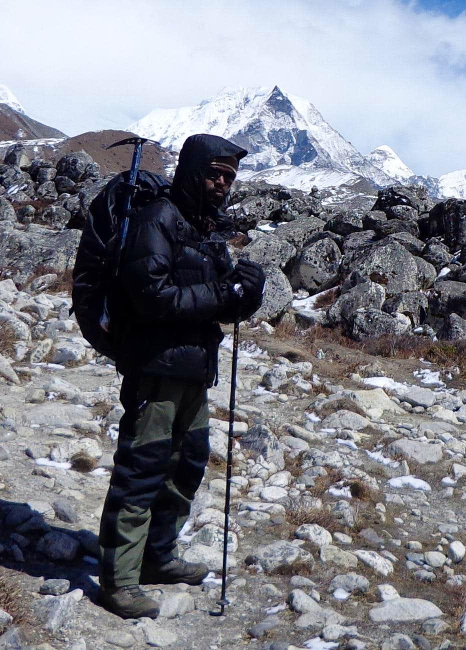After ascending Island Peak 6189m