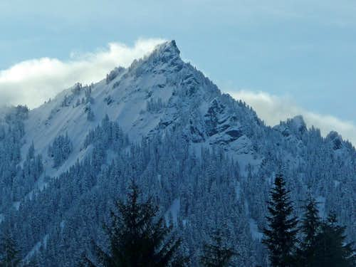 McClellan Butte\'s East Face