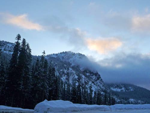Morning from Alpental