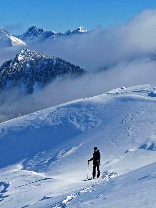 Eye Candy on Chair Peak: A Beautiful Winter Hike
