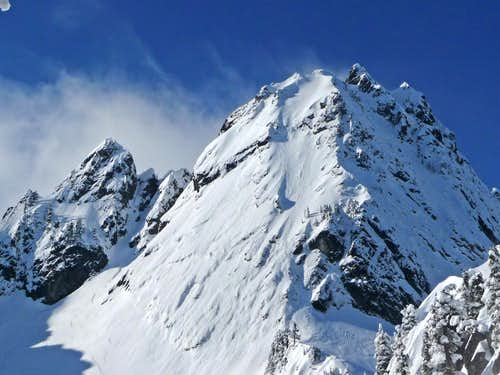 Chair Peak\'s East Face
