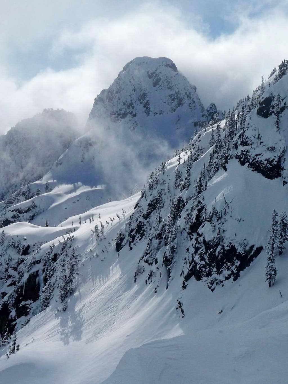 Bryant Peak during Winter