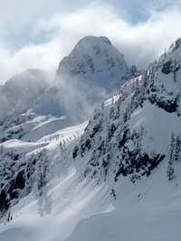Bryant Peak during Winter