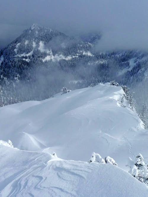 Beautiful Cornices on Chair Peak