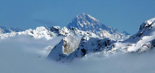 Mount Stuart Above the Clouds