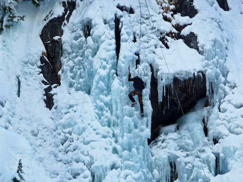 Ice Climbing near Alpental