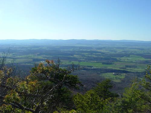 Shenandoah Valley from Grubbs Knob Overlook