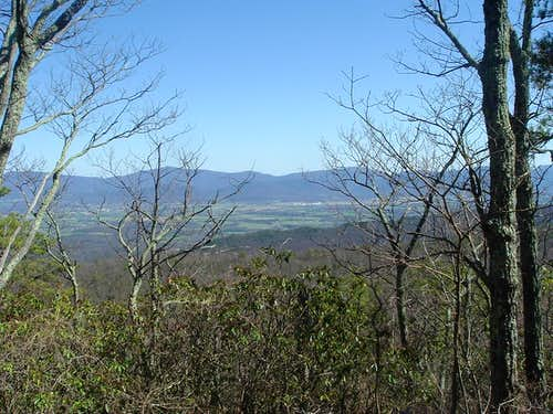 Blue Ridge from Grubbs Knob