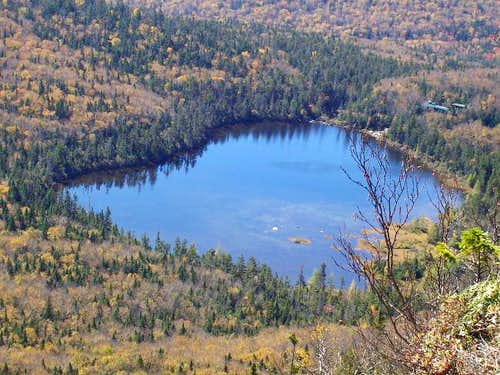 Lonesome Lake, seen here from...