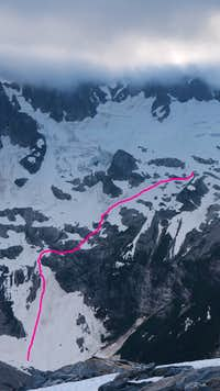 Route into Luna Cirque (1 of 2)