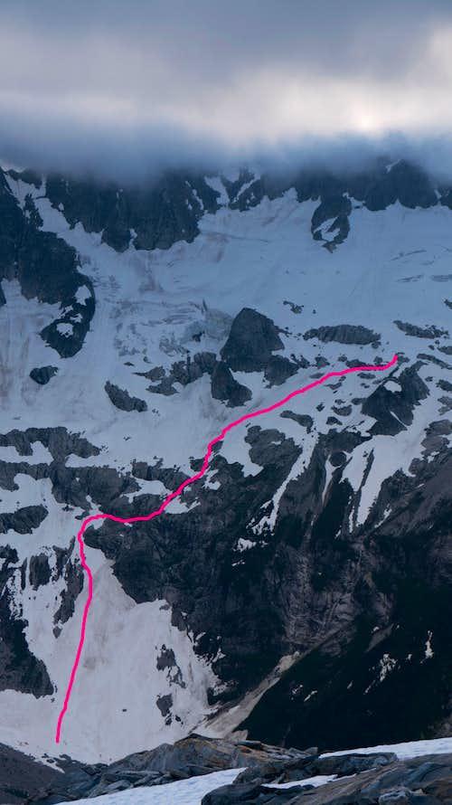 Route into Luna Cirque (1 of 2)