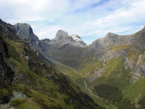 Fjordlands from the Routeburn Track