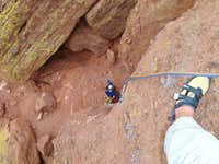 Bolting Climbing Routes