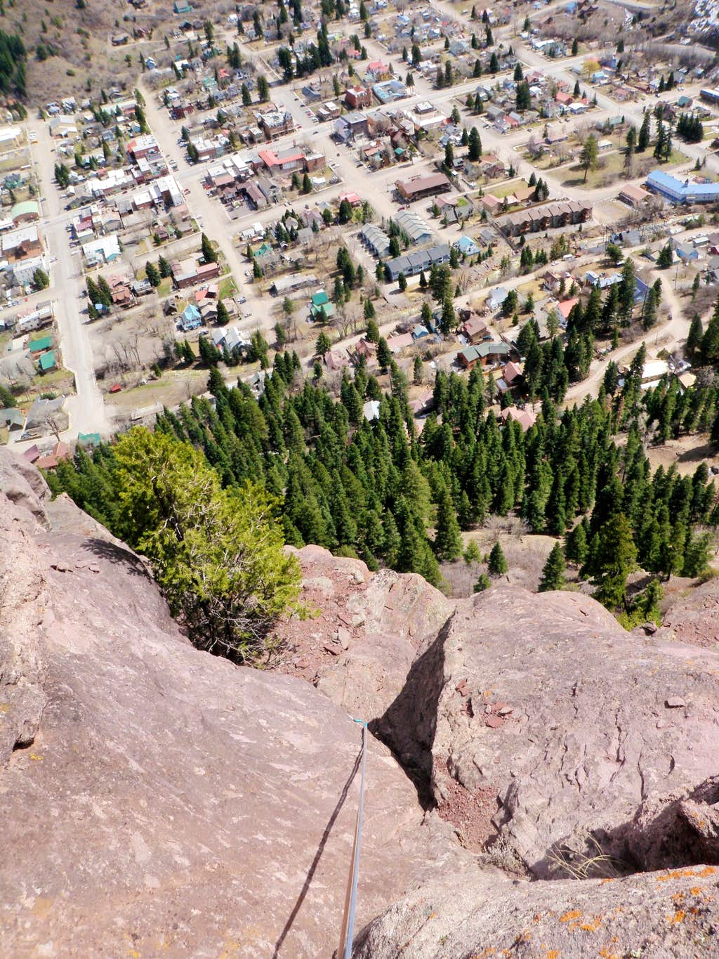View from the top of pitch 6