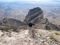 El Capitan from Guadalupe Peak