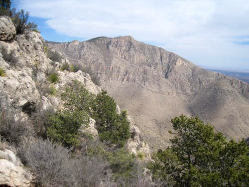 Guadalupe Peak - Topping Texas