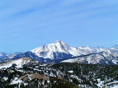 View of Lone Peak from part...
