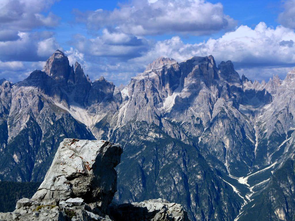Croda dei Toni and Popera South sides