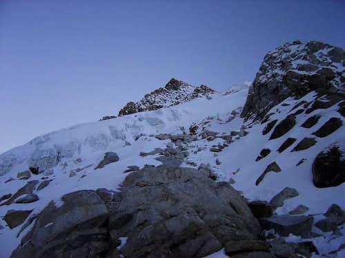 In the little glacier of Urus...