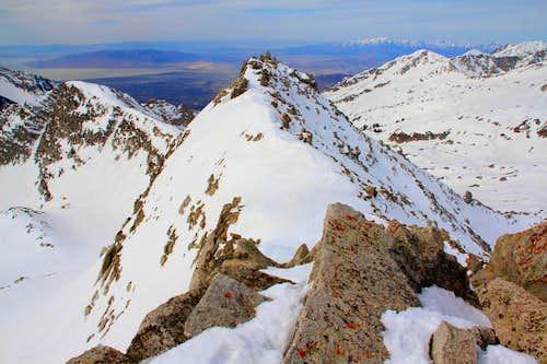 White Baldy's west summit.