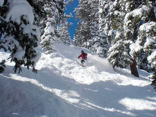 Solitude skiing