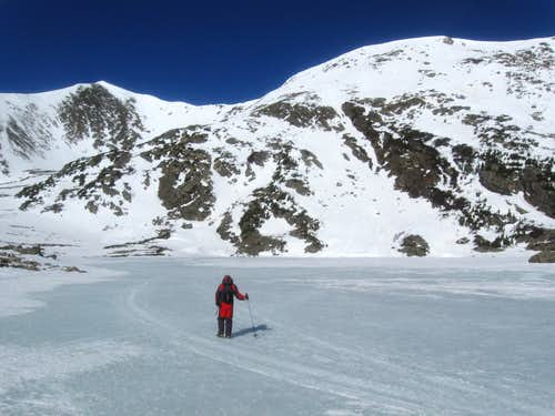 Slide Lake and Homestake Peak