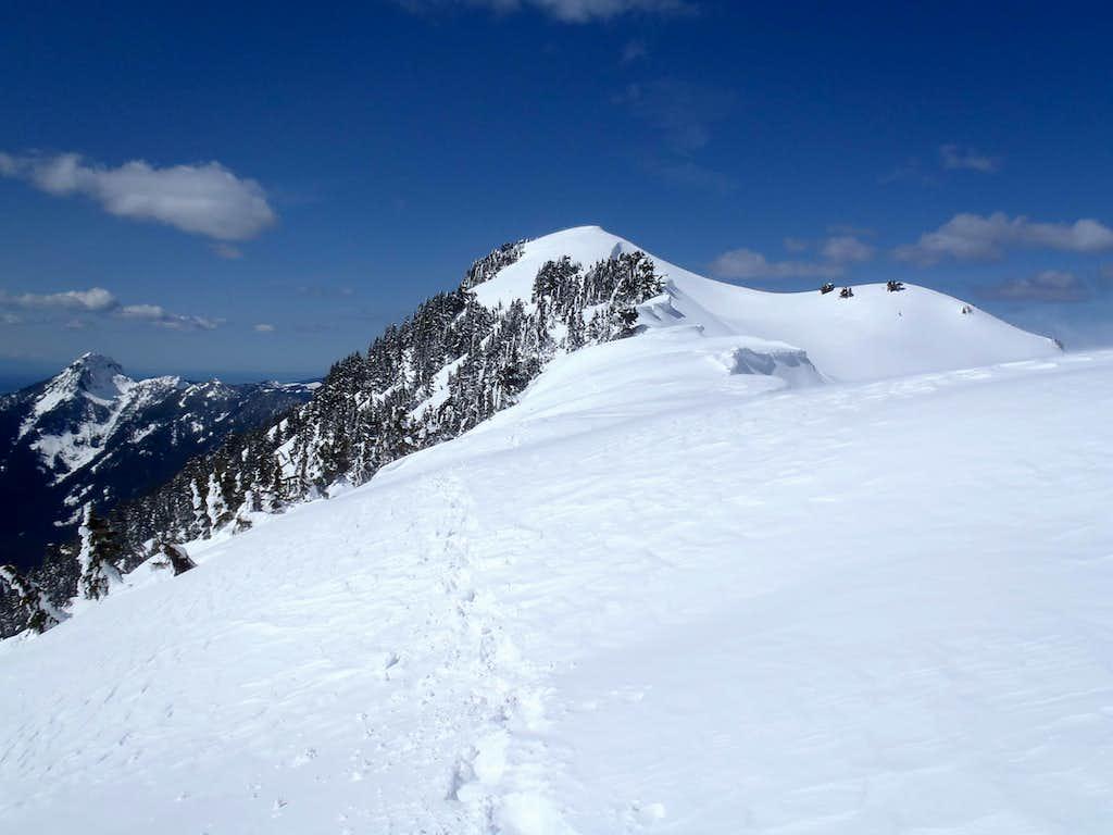 Following Ridge To Lennox Summit