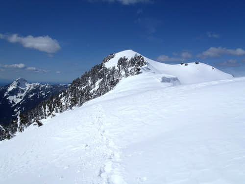 Following Ridge To Lennox Summit