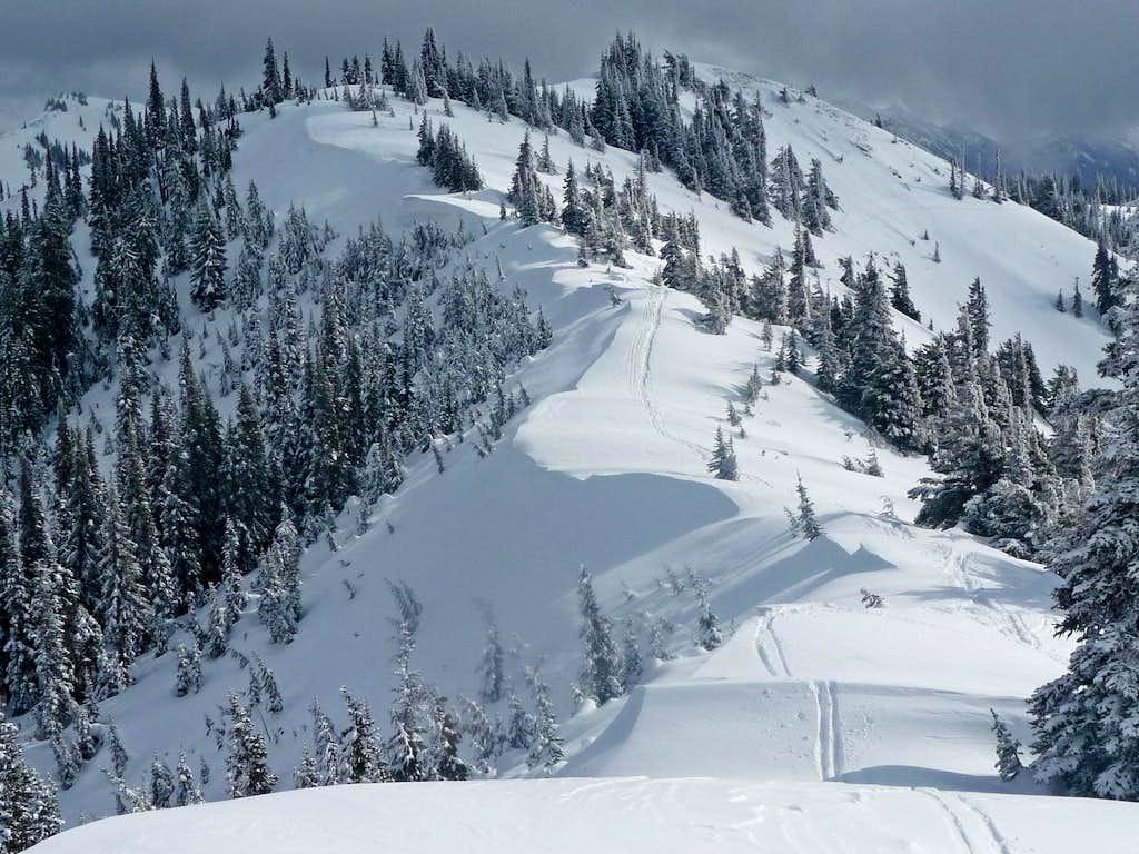 The Ridge to Hurricane Hill