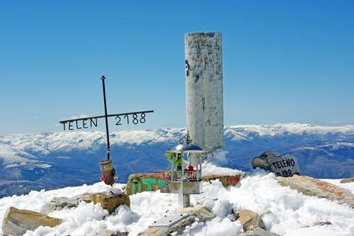 Summit of Teleno