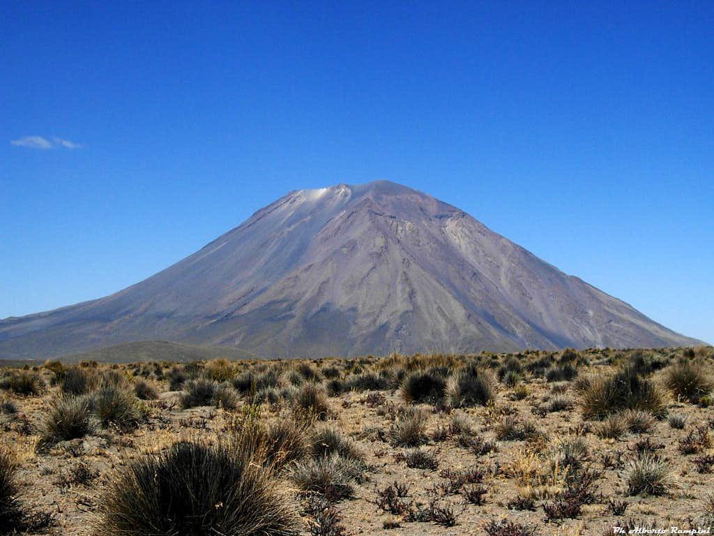 Volcan El Misti seen from the